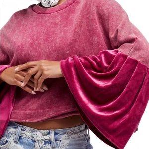 Free People Sleeves Glorious Sleeves Pullover, M